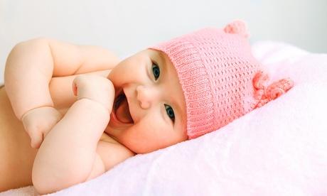 Sesión de fotos para bebés, familias o grupos con 8 fotos o póster por 29,90 € o para comunión con 12 fotos por 39,90 €
