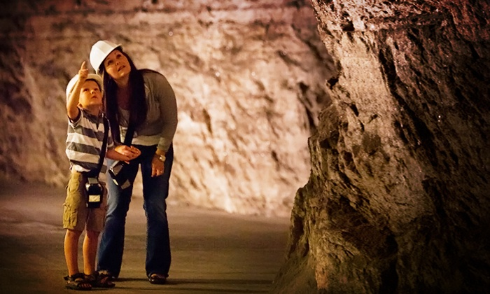 Kansas Underground Salt Museum - Clay: Kansas Underground Salt Museum Visit for Two (Up to 37% Off)