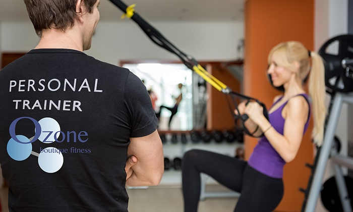 Ozone Boutique Fitness - Multiple Locations: 12 Classes or Saunas & Stretches, or C$249 Worth of Supplements at Ozone Boutique Fitness (Up to 84% Off)