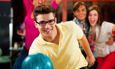 Bowling, Billiards, Food, and Drinks at Saratoga Lanes and Moolah Lanes (50% Off). Two Options Available.