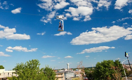 Zipline Canopy Tour or Adventure Package for One or Two at Adventure Ziplines of Branson (53% Off)