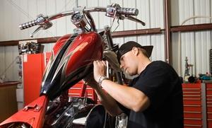 Cambio de aceite y filtro con revisión de moto de hasta 250 cc por 19,90 € o de más de 250 cc por 29,90 €