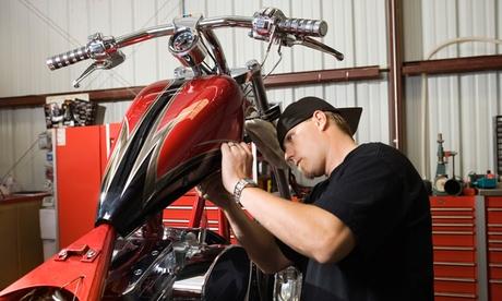 Cambio de aceite y revisión para moto de hasta 250 o 1.000 cc desde 19 €