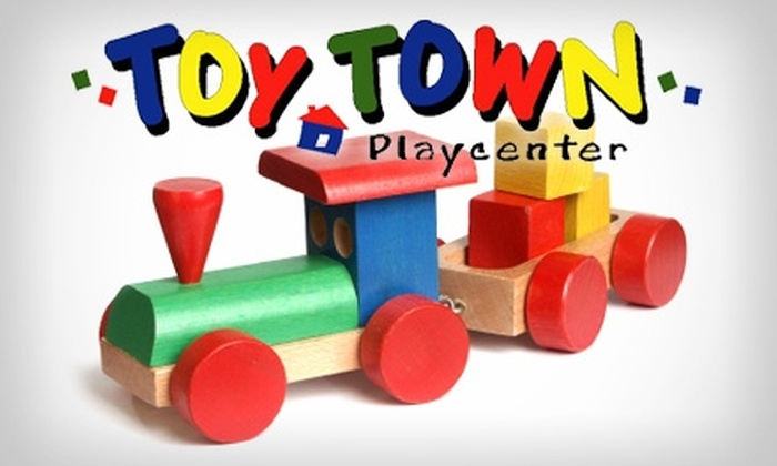 Toy Town Playcenter - Ahwatukee Foothills: $20 for Five Admissions to Toy Town Playcenter ($40 Value)