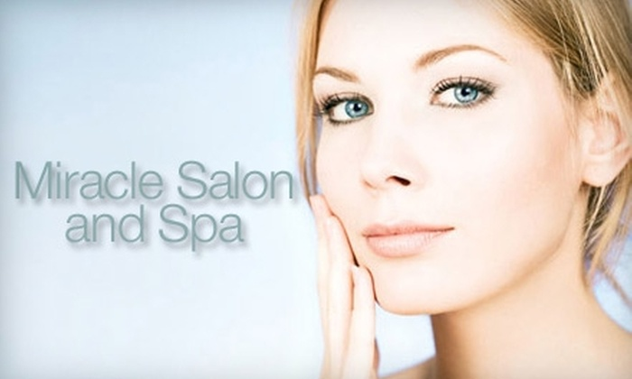 Miracle Salon and Spa - Bedford: $25 for $50 Worth of Services at Miracle Salon & Spa