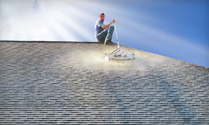 Grime Solutions - Harrisburg: $75 for $175 Worth of Power-Washing, Roof-Cleaning, and Carpet-Cleaning Services from Grime Solutions