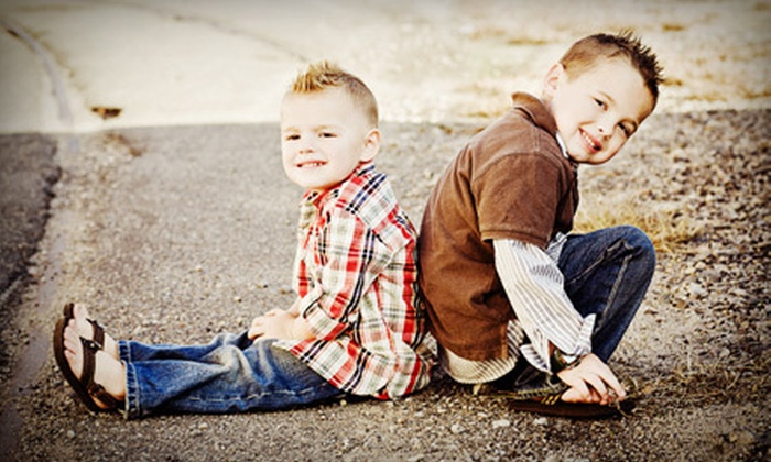 JL Keeney Photography - Portsmouth: $49 for Onsite or In-Studio Children's Photo Shoot from JL Keeney Photography in Portsmouth (Up to $625 Value)
