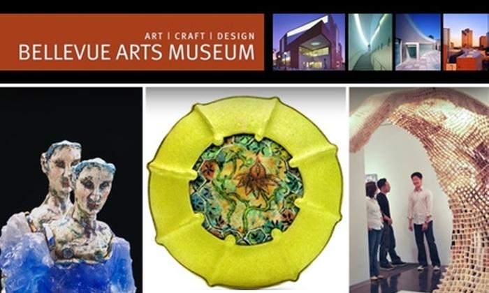 Bellevue Arts Museum - West Bellevue: $25 for One-Year Individual Membership at Bellevue Arts Museum ($50 Value)