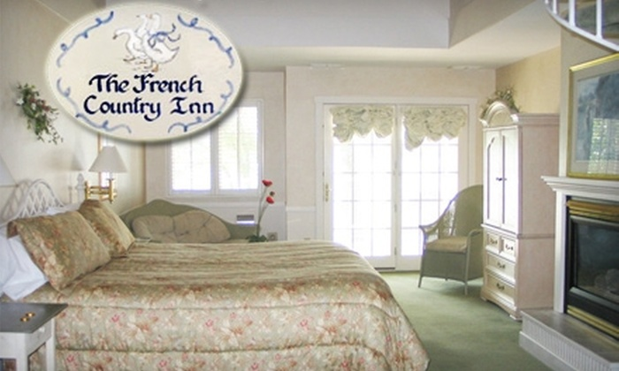 The French Country Inn - Geneva: One-Night Stay at The French Country Inn in Lake Geneva. Weekday and Weekend Options Available.