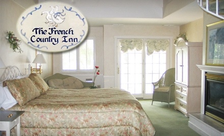 The French Country Inn: One-Night Weekday (SundayThursday) Stay in a Standard Guest Room - The French Country Inn in Lake Geneva