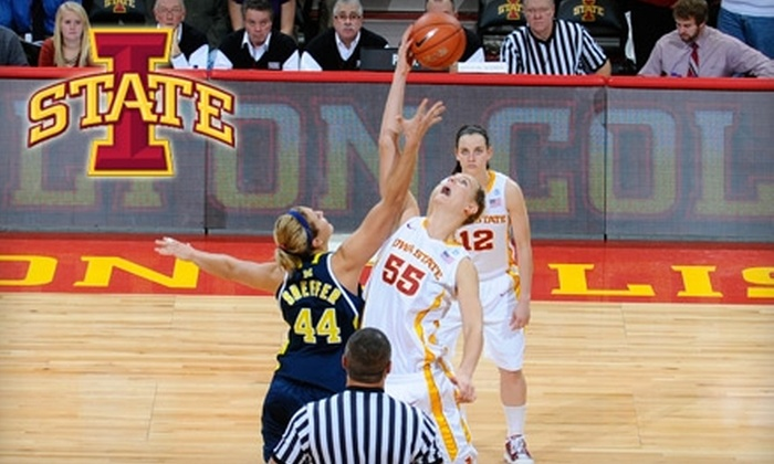 Iowa State Athletics Department - Iowa State University: $5 for One General-Admission Ticket to an Iowa State Women's Basketball Game ($10 Value)