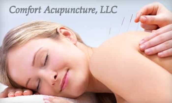 Comfort Acupuncture, LLC - Clover Hill: $50 for an Initial Acupuncture Treatment and Follow-Up at Comfort Acupuncture, LLC (Up to $175 Value)