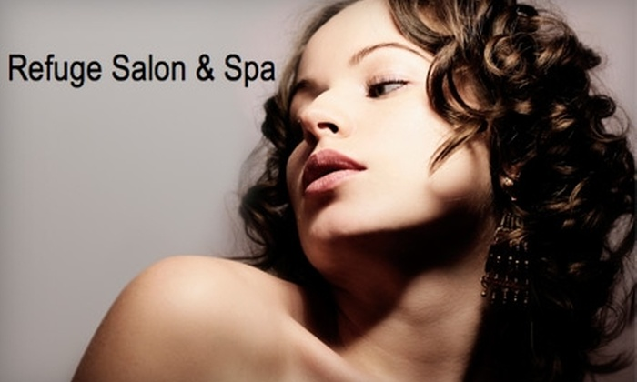 Refuge Salon and Spa - Echo Park: $30 for Hair and Spa Services (Up to $65 Value) at Refuge Salon and Spa