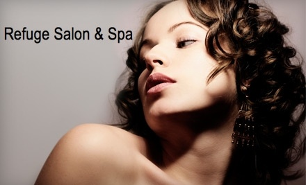 $65 Groupon to Refuge Salon and Spa - Refuge Salon and Spa in Los Angeles
