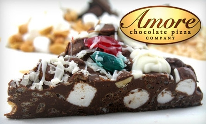 Amore Chocolate Pizza Company - Leawood Town Center: $5 for $10 Worth of Chocolate Pizza, Espresso, Ice Cream, and Fondue at Amore Chocolate Pizza Company in Leawood