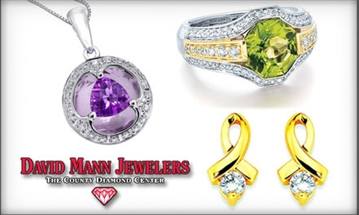 David Mann Jewelers - Geneseo: $20 for $50 Worth of Jewelry and More at David Mann Jewelers