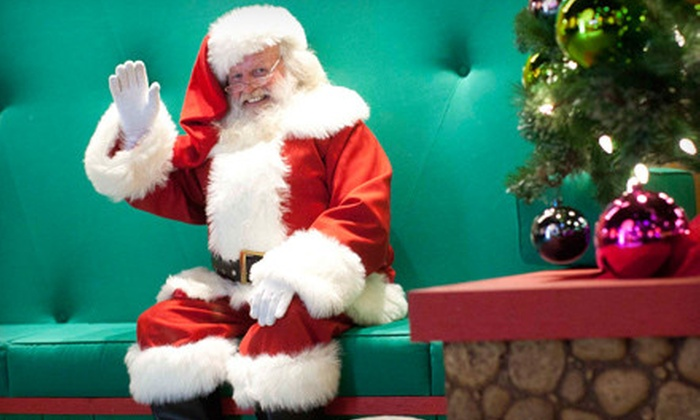 Atlantic Station - Atlantic Station: $12 for Photo Package with Santa Claus at Atlantic Station ($25 Value)