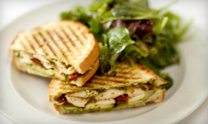 Paninoteca - Downtown: Mediterranean Fare for Lunch or Dinner and Drinks at Paninoteca. Two Options Available.