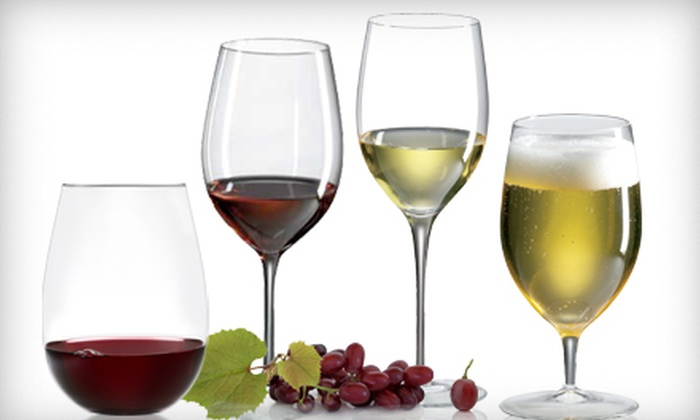 Handcrafted Glassware Set: $15 for Red, White, Stemless, or All-Purpose Glassware Sets ($32 Value)