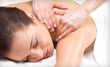 1-Hour Couples Massageand and a 1-Hour Pedicure for 2 (a $210 value) - Plush Salon & Spa in Mesa