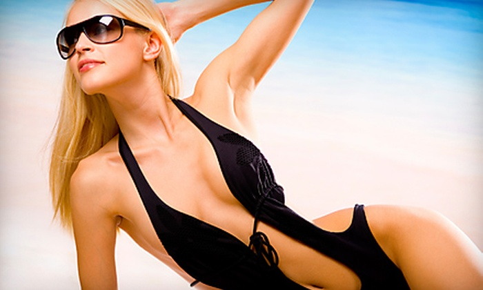 Shirley Pear Spray Tanning Salon - Multiple Locations: One or Five Spray-Tanning Sessions from Shirley Pear Spray Tanning Salon
