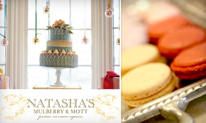 Natasha's Mulberry & Mott - Mission Farms: $5 for $10 Worth of French Pastries, Espresso, Ice Cream, and More at Natasha's Mulberry & Mott in Leawood