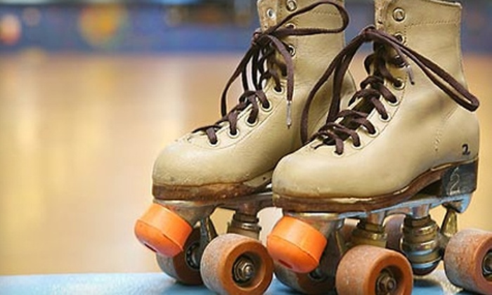 Big Wheel Roller Skating Center - Arlington Heights: $8 for Admission and Skate Rental for Two at Big Wheel Roller Skating Center in East Stroudsburg (Up to $18.50 Value)