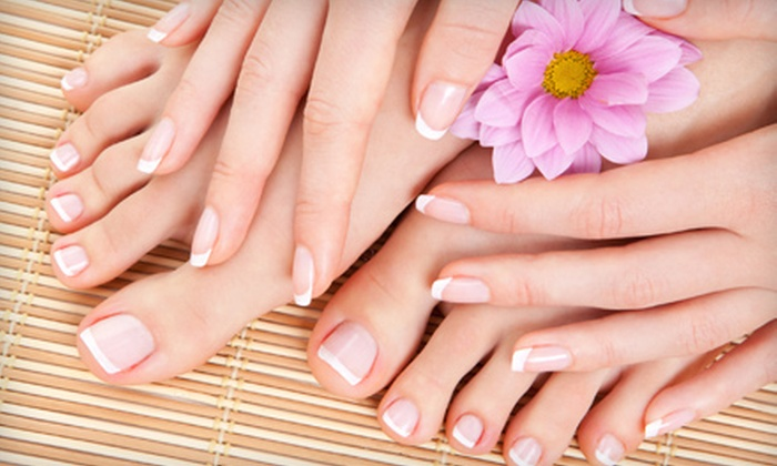 Thulan Vu at Off Center Salon & Spa - West Hartford: Mani-Pedi Packages at Off Center Salon & Spa in West Hartford. Three Options Available.