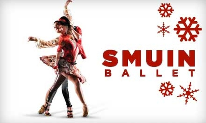 Smuin Ballet - Multiple Locations: $60 for Two Elite Seating Tickets (or $30 for One Ticket) to Smuin Ballet's Holiday Program (Up to $130 Value)