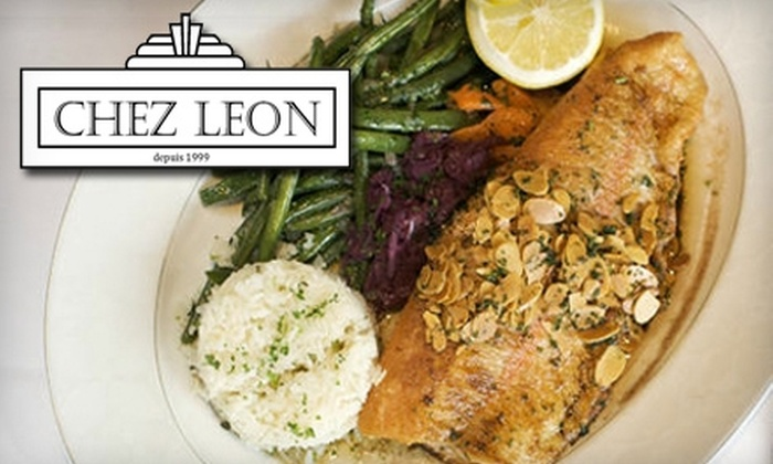 Chez Leon - Clayton:  $20 for $43 Worth of Classic French Cuisine and Wine at Chez Leon