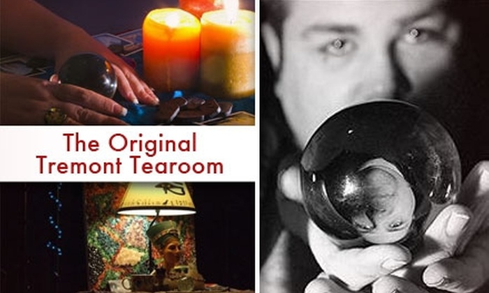 The Original Tremont Tearoom - Downtown: $25 for a 30-Minute Psychic Reading at the Original Tremont Tearoom ($55 Value)