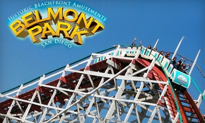 Belmont Park - Mission Beach: $10 for Unlimited Rides at Belmont Park (Up to $22.95 Value)
