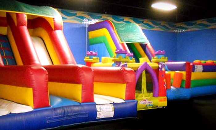 Fun Town Factory - Blue Village: Play Package, King Play Package, or $10 for $20 Worth of Games at Fun Town Factory in Independence