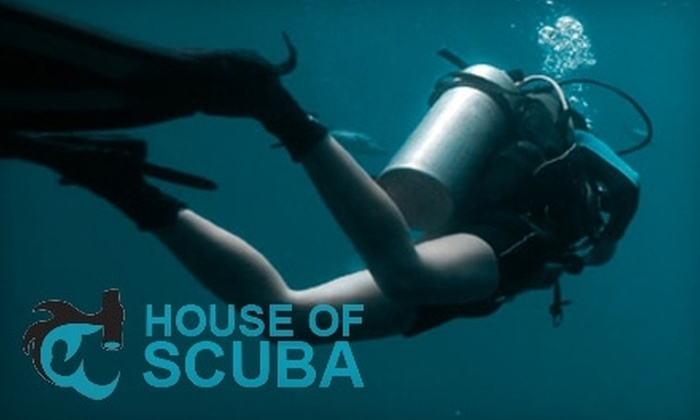 House of Scuba - Mission Beach: $39 for an Introductory Scuba Dive Lesson from House of Scuba ($100 Value)