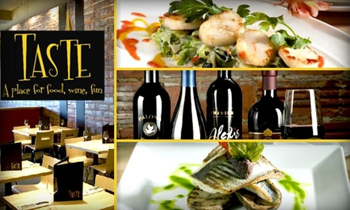 Taste - Cleveland Heights: $35 for $75 Worth of French American Cuisine and Drinks at Taste