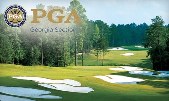Georgia PGA: $24 for a Georgia PGA GolfPass Including Free Golf at More Than 30 Georgia Golf Courses and More ($49.95 Value)