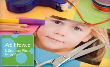 $30 Groupon to Home & Southern Pines Paper Co.  - Home & Southern Pines Paper Co.  in Southern Pines