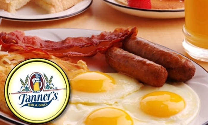 Tanner's Bar and Grill - Omaha: $10 for $20 Worth of Breakfast Fare and Drinks at Tanner's Bar and Grill