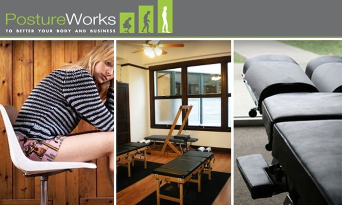 PostureWorks - Financial District: Banish Back Pain with a Posture Analysis, Physical Exam, and Chiropractic Session at PostureWorks