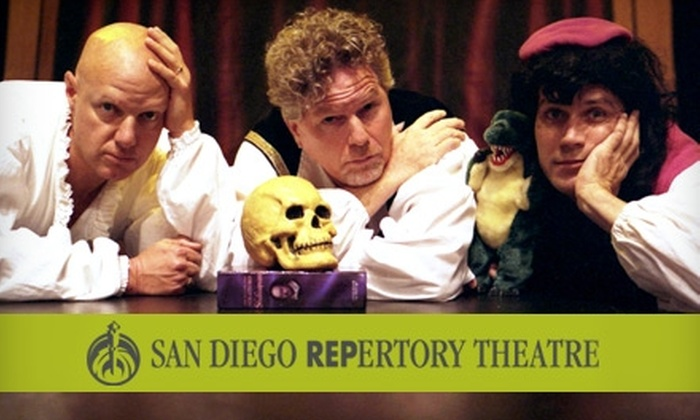 "San Diego Repertory Theatre - Horton Plaza: $12 Ticket to ""The Complete Works of William Shakespeare (Abridged)"" at San Diego Repertory Theatre ($25 Value). Choose From Eight Performances."