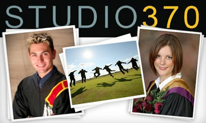 Studio 370 - St. Marys Hospital: $49 for a Graduation or Family Portrait Session and Print Package at Studio 370 (Up to $135 Value)