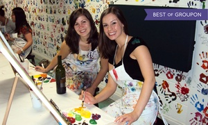 Dip 'n Dab: $12 for a Two-Hour BYOB Painting Class at Dip 'n Dab ($30 Value)
