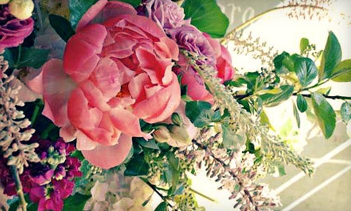 Blümgarten & Co. - Pilsen: BYOB Floral-Design Class for One, Two, or Four at Blümgarten & Co. (Up to 60% Off)