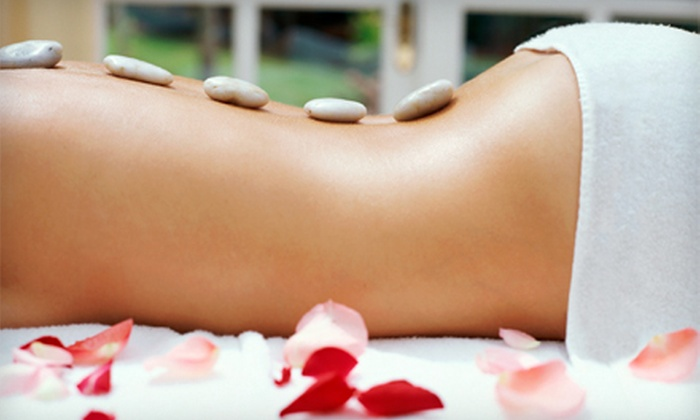 The Calm Room - Slate Hill: Hot-Stone Massage, Mint-Chocolate Body Package, or Chocolate Lovers Couples Massage at The Calm Room (Up to 54% Off)