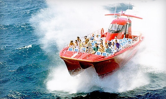 1000 Islands & Seaway Cruises - Brockville: $31 for a High-Speed Adventure Cruise from 1000 Islands & Seaway Cruises in Brockville (Up to $64.95 Value)