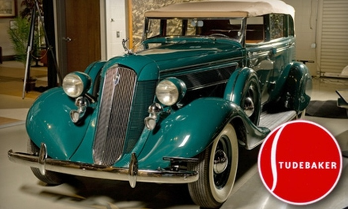 Studebaker National Museum - West Washington: $4 for an Adult Admission ($8 Value) or $2 for a Student Admission ($5 Value) to the Studebaker National Museum