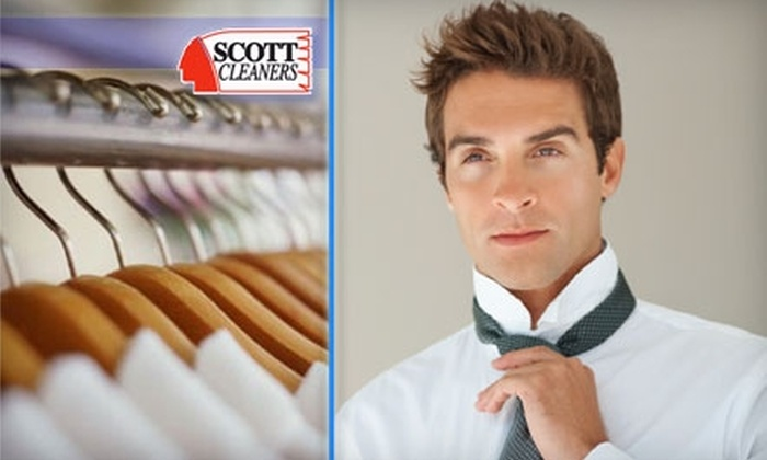 Scott Cleaners - Multiple Locations: $10 for $25 Worth of Dry Cleaning and Laundering Services at Scott Cleaners