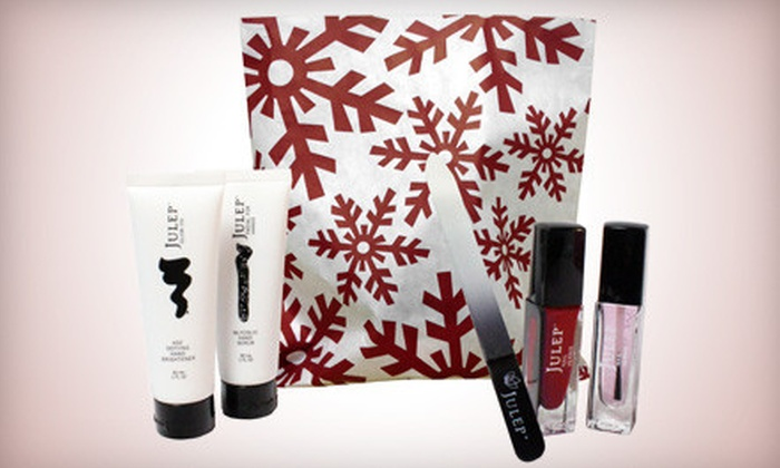 Julep: $23 for a Get Your Holiday Glow On Gift Set from Julep ($59.99 Value)