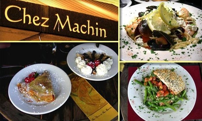 Chez Machin - Sunnyside: $20 Worth of French-Bistro Fare and Drinks at Chez Machin