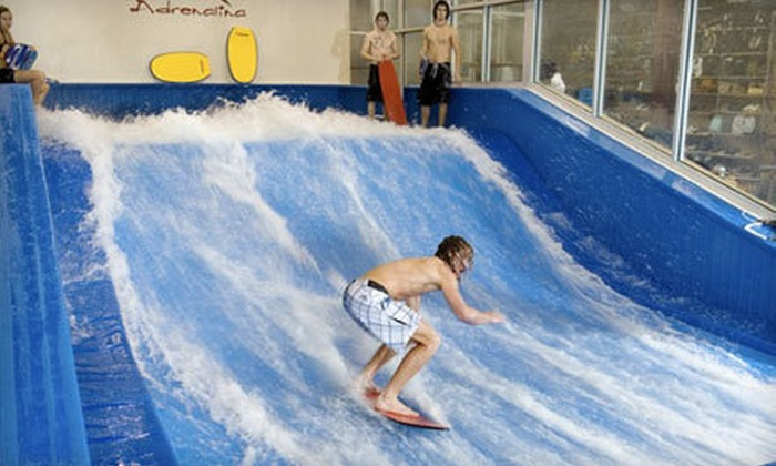 Aqua Shop - Plano: $20 for Two 30-Minute Indoor Surf Sessions at Aqua Shop in Plano ($40 Value). Two Options Available.
